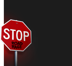 Stop Sign reading: Stop Road Rage
