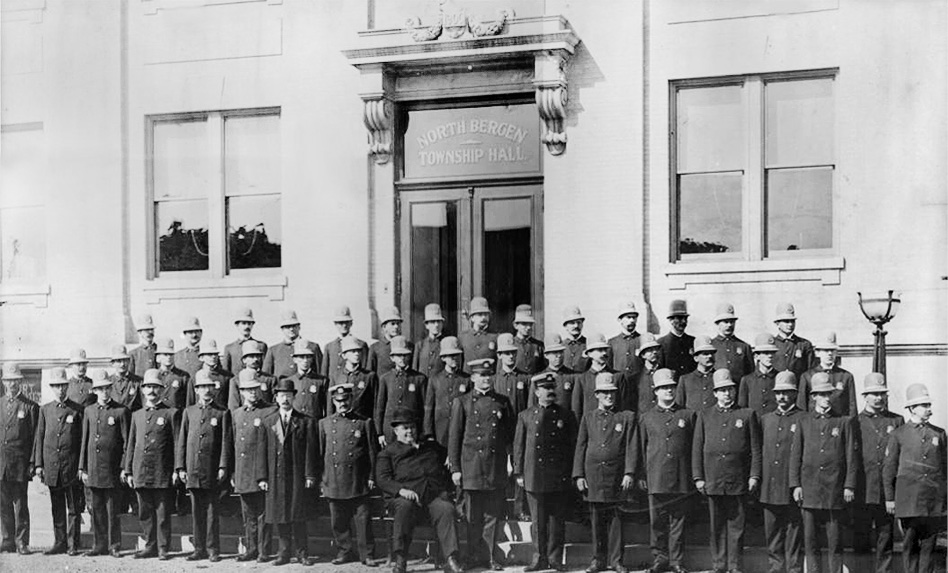 North Bergen Police Department (Roundsmen) 1908